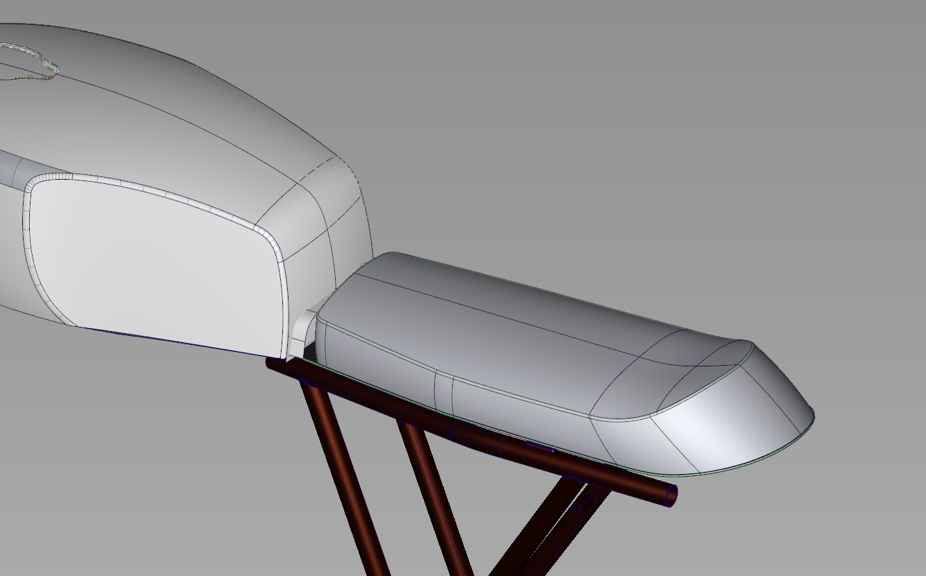 xs750 seat – part 1