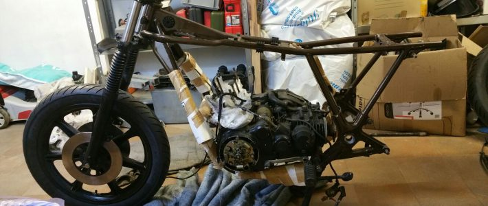 XS750 – engine is back in