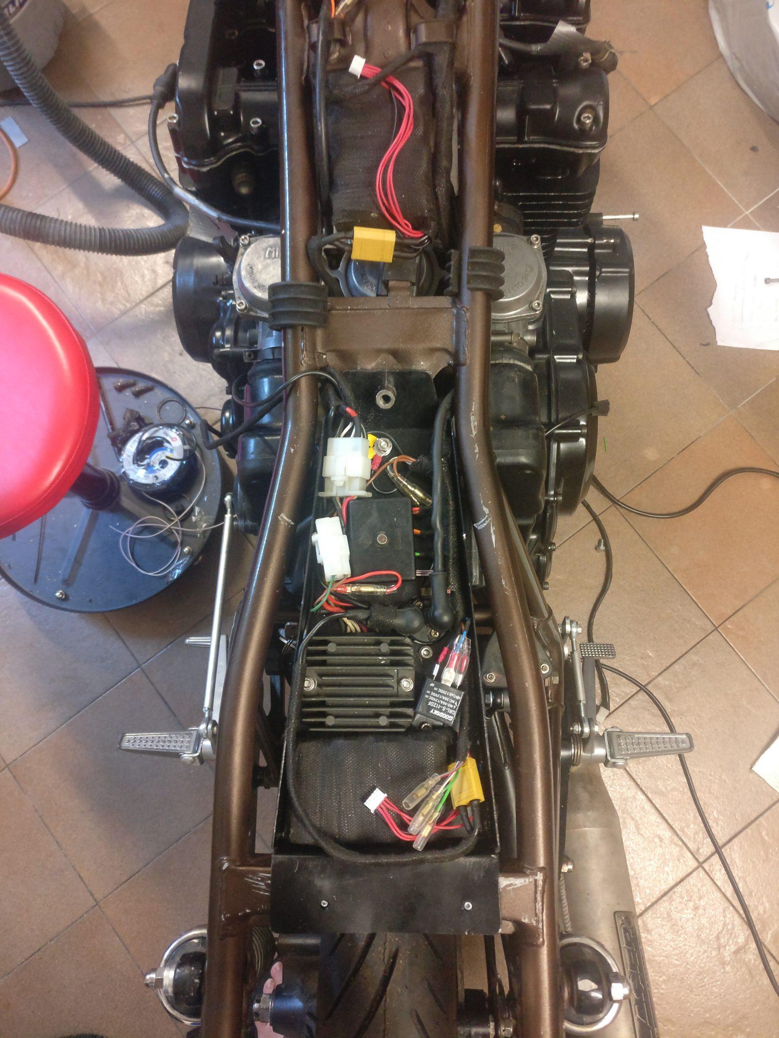 bike electric XS750