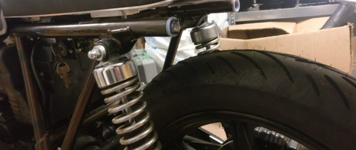 xs750 rear fender and indicators